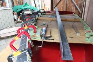 attaching starboard rails